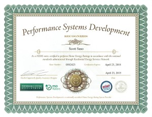Performance Systems Development Certificate