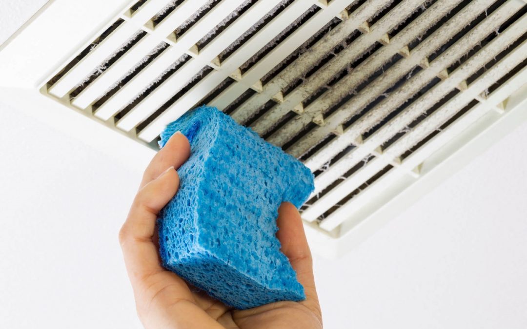 areas to spring clean include the air vents in the home